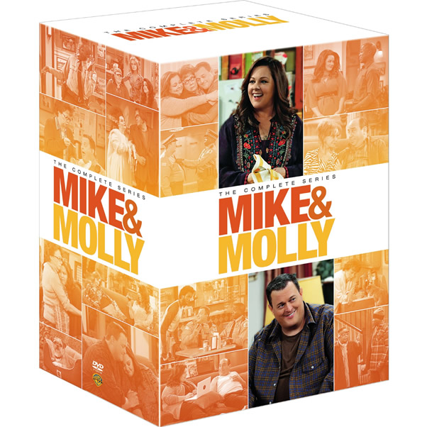 Mike and Molly DVD Complete Series 1-6 Box Set