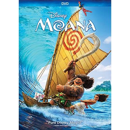 Moana Kids Movie DVD