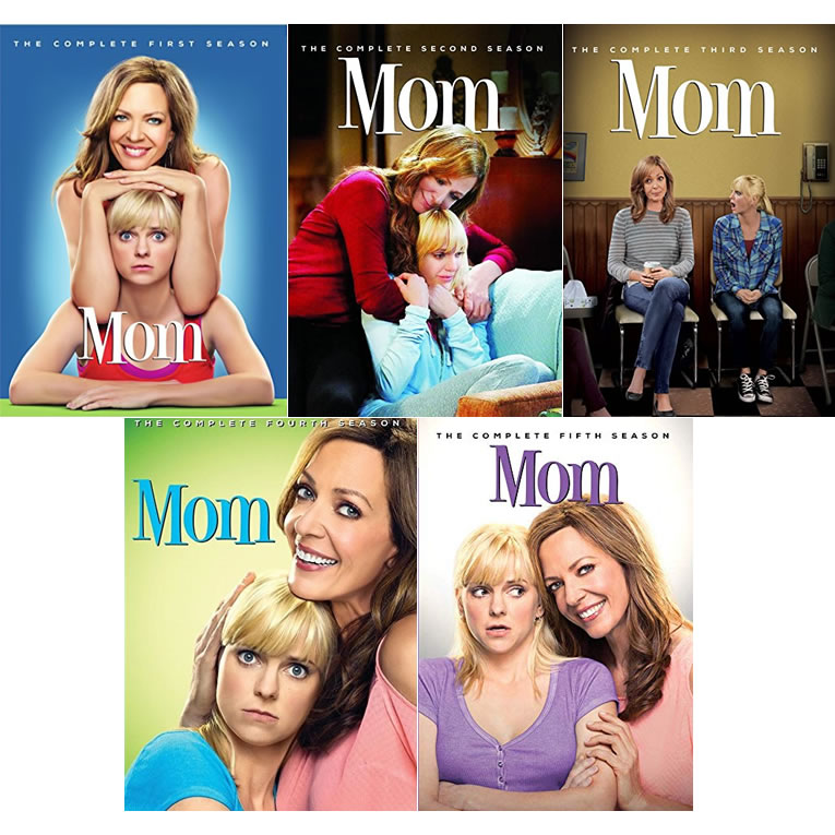 Mom DVD Complete Series 1-5 Box Set