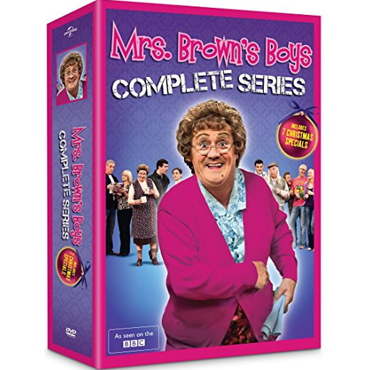 Mrs. Brown's Boys DVD Complete Series Box Set