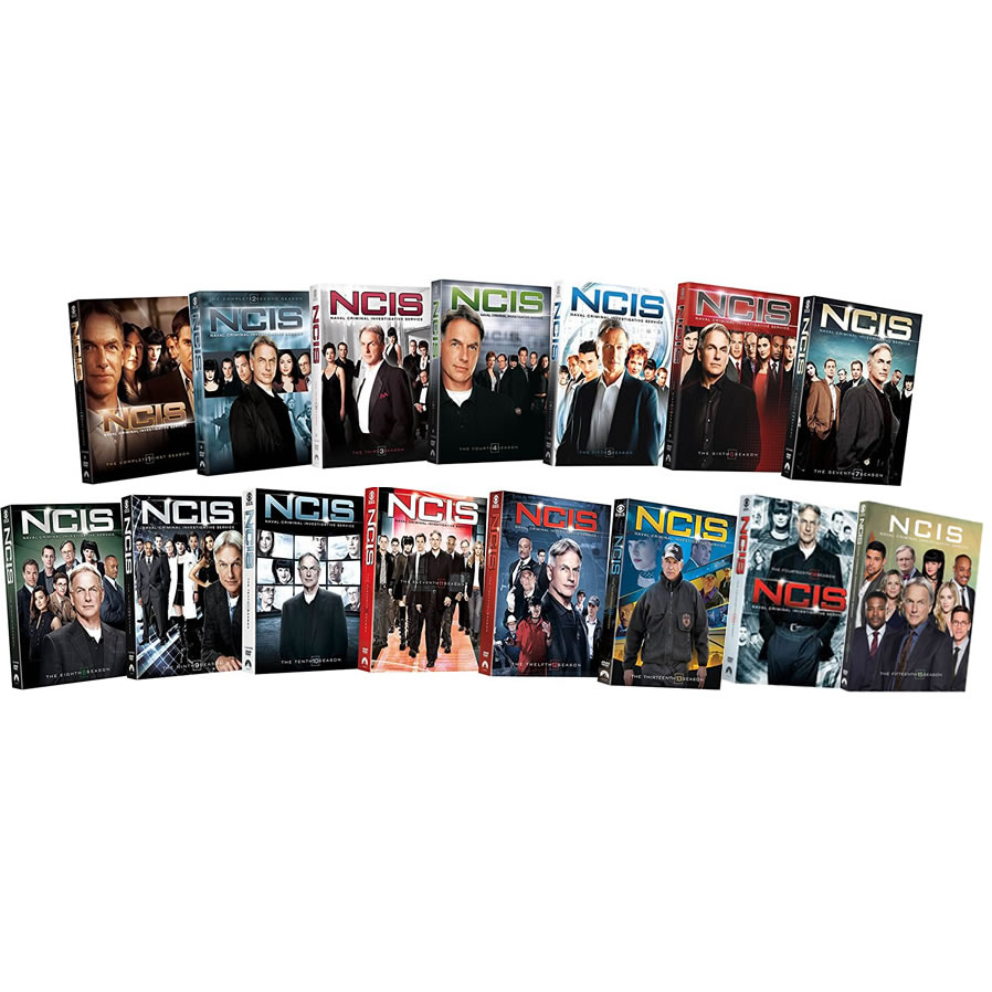NCIS DVD Complete Series 1-15 Box Set