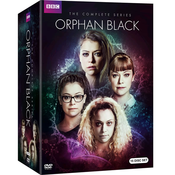 Orphan Black DVD Complete Series Box Set