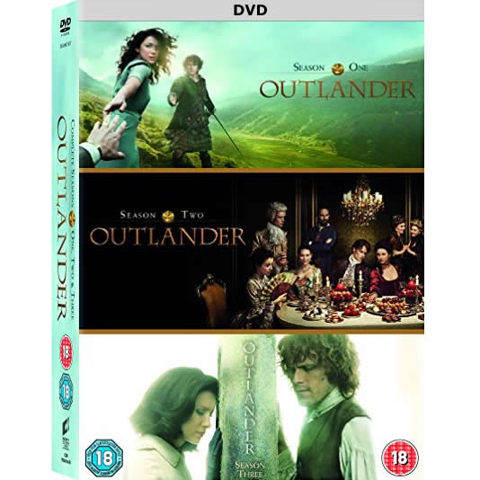 Outlander DVD Complete Series 1-3 Box Set