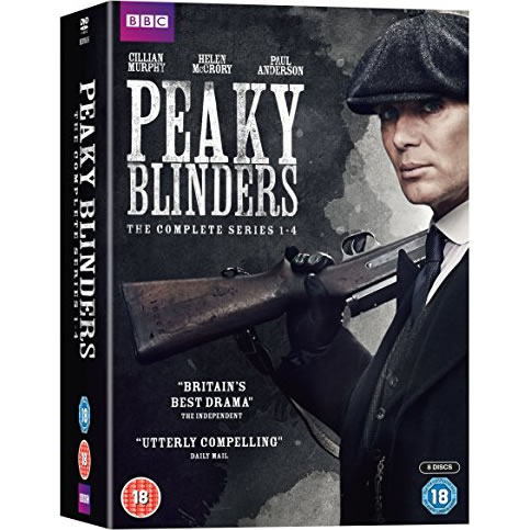 Peaky Blinders DVD Complete Series 1-4 Box Set