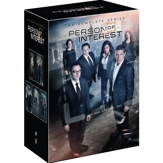 Person of Interest DVD Complete Series 1-5 Box Set