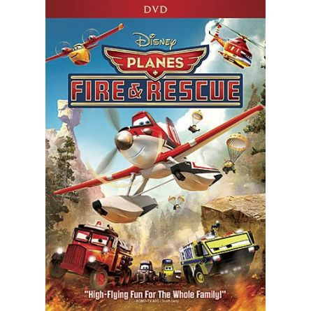 Planes Fire and Rescue Kids Movie DVD
