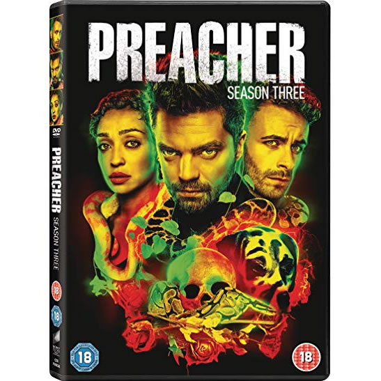 Preacher Season 3 DVD Wholesale