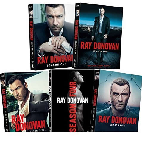 Ray Donovan DVD Complete Series 1-5 Box Set