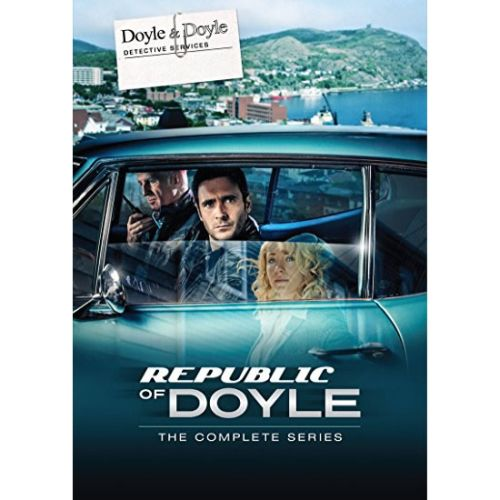 Republic of Doyle DVD Complete Series Box Set