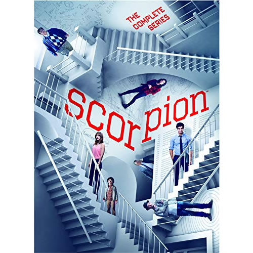 Scorpion DVD Complete Series Box Set