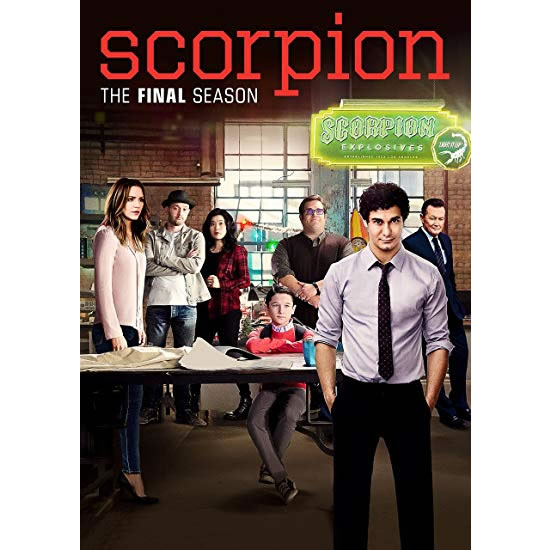 Scorpion Season 4 DVD
