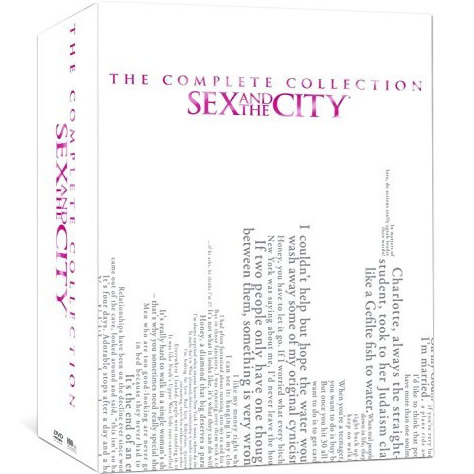 Sex and the City DVD Complete Series 1-6 Box Set