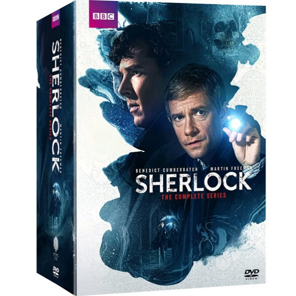 Sherlock DVD Complete Series Box Set