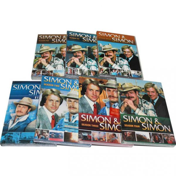 Simon & Simon DVD Complete Series 1-7 Box Set