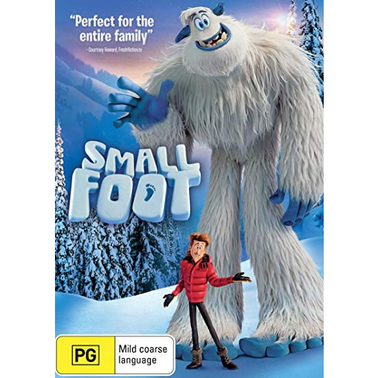 Smallfoot Kids Movie DVD