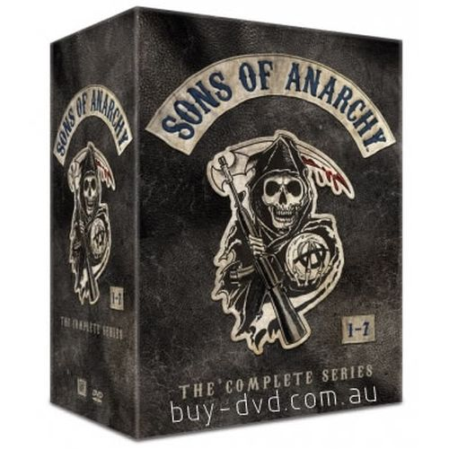 Sons of Anarchy DVD Complete Series Box Set