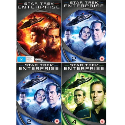 Star Trek Enterprise DVD Complete Series 1-4 Box Set