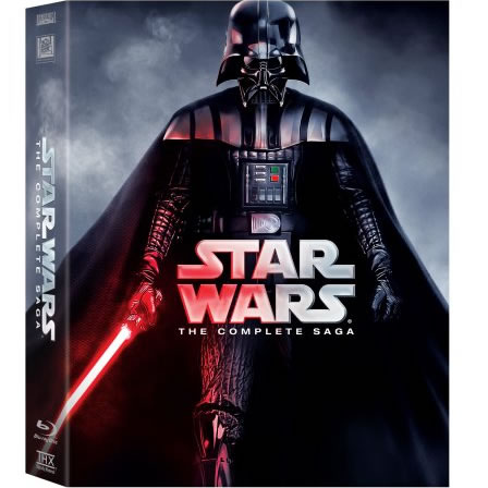 STAR WARS The Complete Saga DVD Box Set