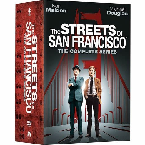 Streets of San Francisco DVD Complete Series Box Set