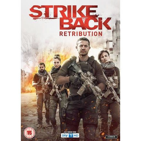 Strike Back Season 5 Retribution DVD Wholesale