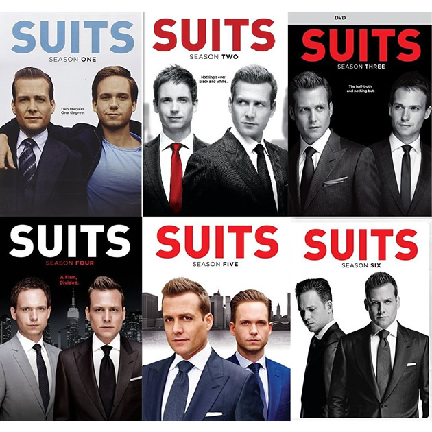Suits DVD Complete Series 1-6 Box Set