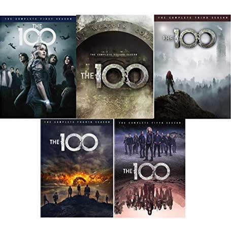The 100 DVD Complete Series 1-5 Box Set