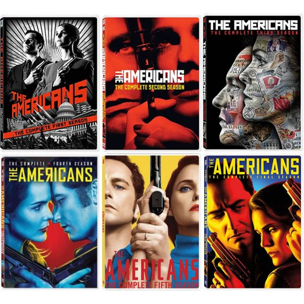 The Americans DVD Complete Series 1-6 Box Set