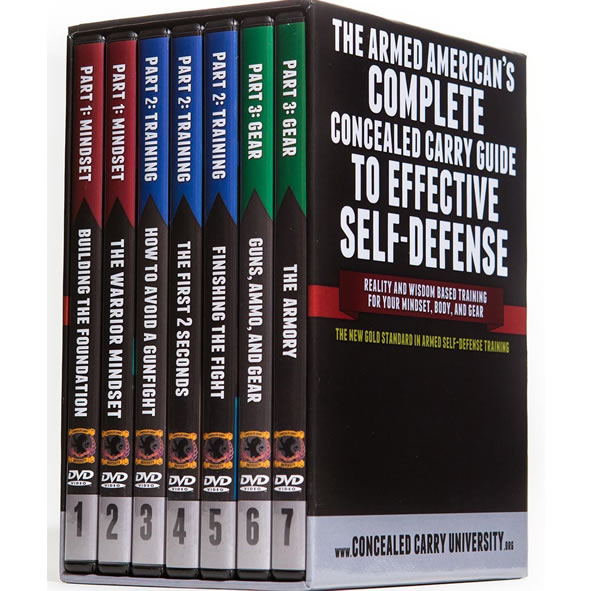 The Armed American's Complete Concealed Carry Guide DVD Box Set