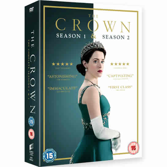 The Crown Season 1 and 2 DVD Wholesale