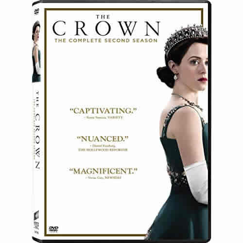 The Crown Season Two DVD Wholesale