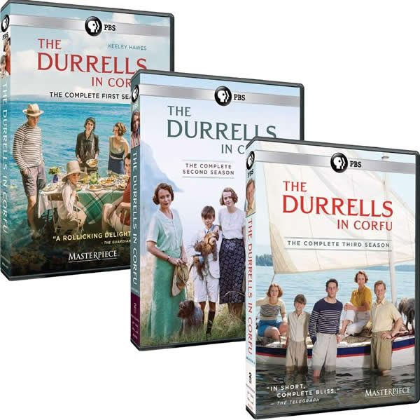 The Durrells DVD Complete Series 1-3 Box Set