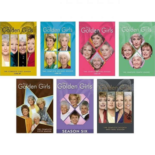 The GOLDEN GIRLS DVD Complete Series 1-7 Box Set