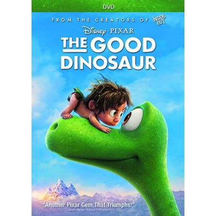 The Good Dinosaur Kids Movie DVD