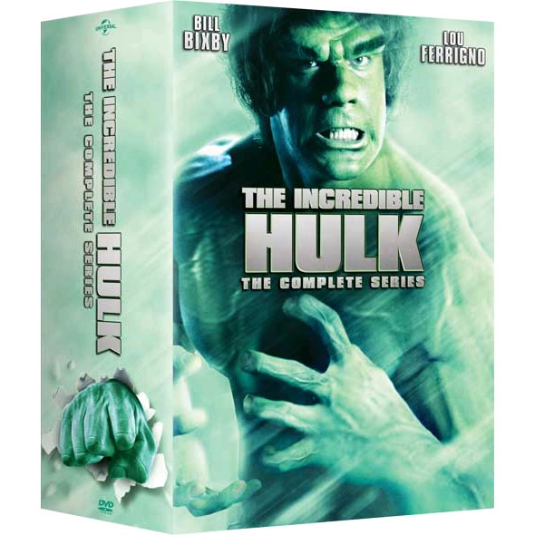The Incredible Hulk DVD Complete Series Box Set