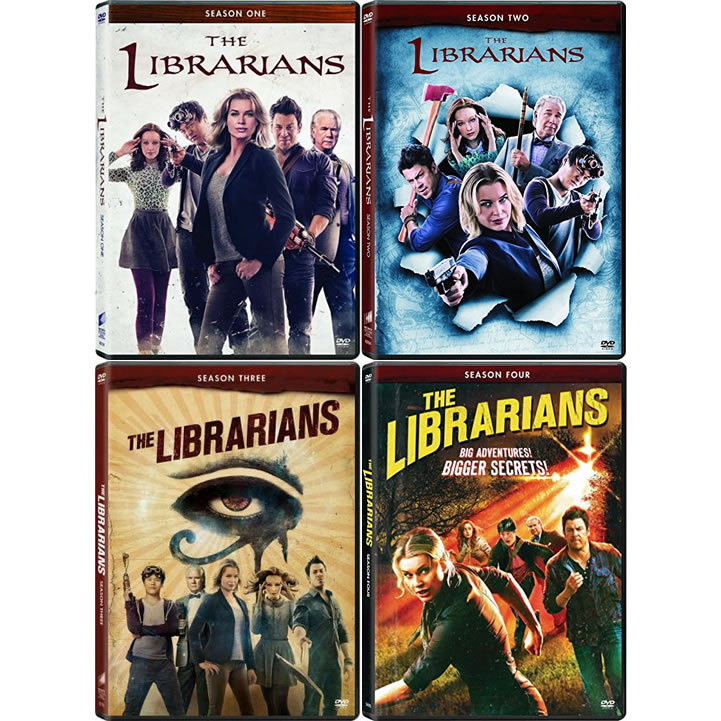 The Librarians DVD Complete Series 1-4 Box Set