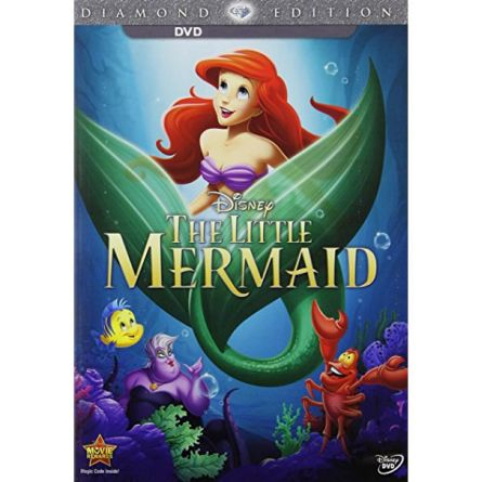The Little Mermaid Kids Movie DVD