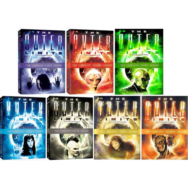 The Outer Limits DVD Complete Series 1-7 Box Set