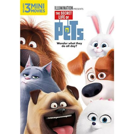 The Secret Life of Pets Kids Movie DVD