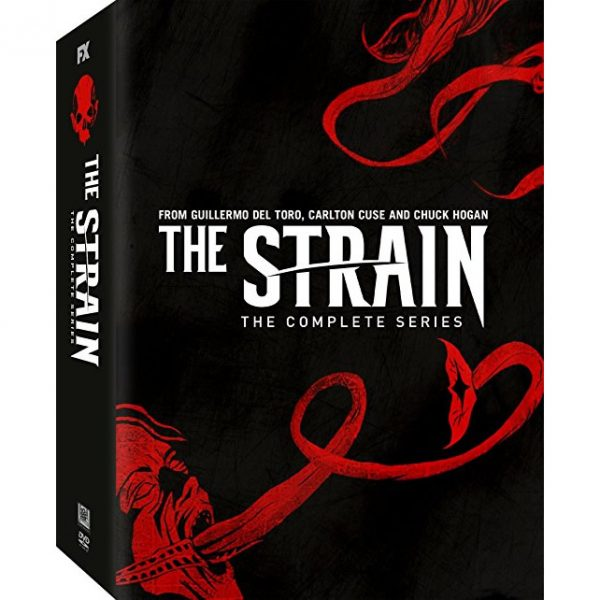 The Strain DVD Complete Series 1-4 Box Set