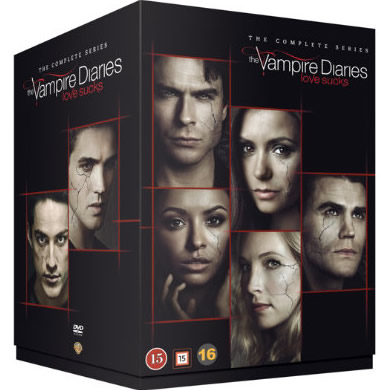 The Vampire Diaries DVD Complete Series 1-8 Box Set
