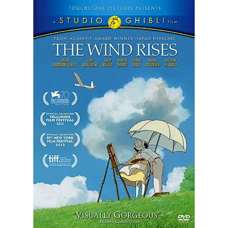 The Wind Rises Kids Movie DVD