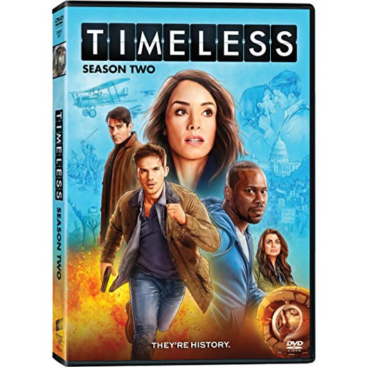 Timeless Season 2 DVD Wholesale
