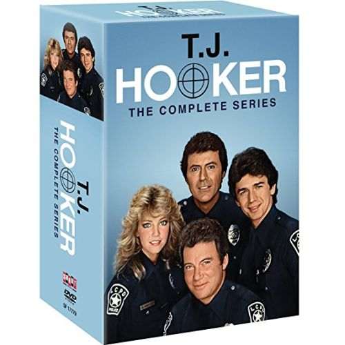 T.J. Hooker DVD Complete Series Box Set