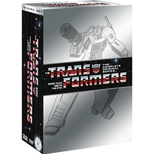 Transformers DVD Complete Series Box Set