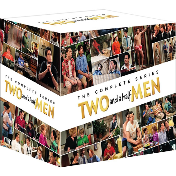 Two and a Half Men DVD Complete Series Box Set