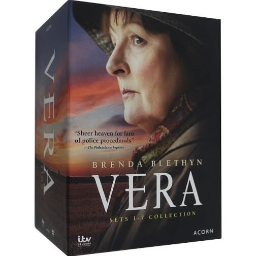 Vera Complete Series Sets 1-7 Collection DVD Box Set