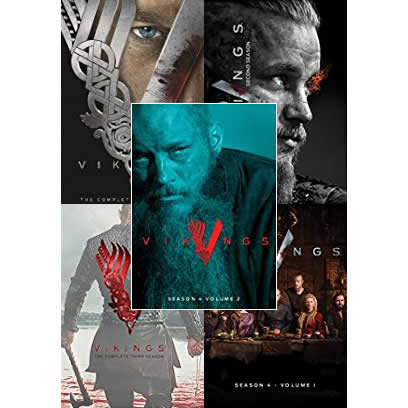 Vikings DVD Complete Series 1-4 Box Set