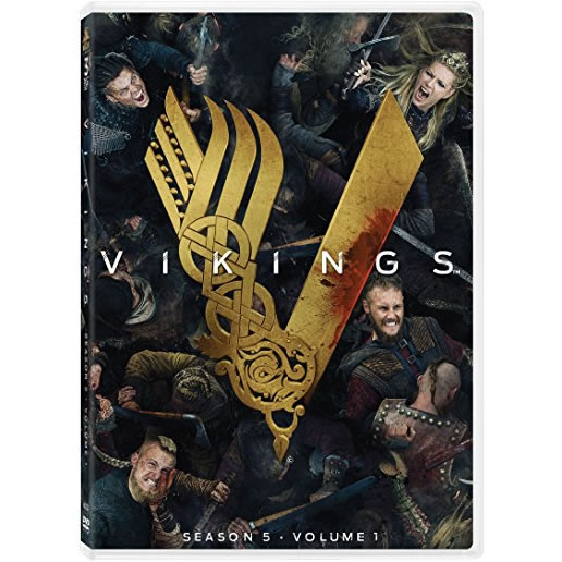 Vikings Season 5 Part 1 DVD Wholesale