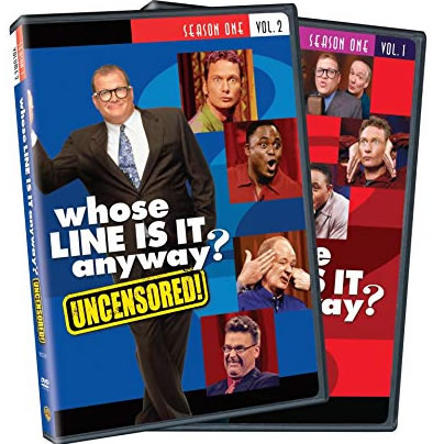 Whose Line Is It Anyway Season 1 Vol. 1 and 2 DVD Wholesale