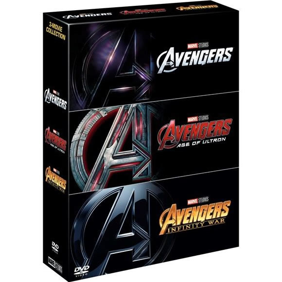 Marvel's The Avengers 3-Movie Collection DVD